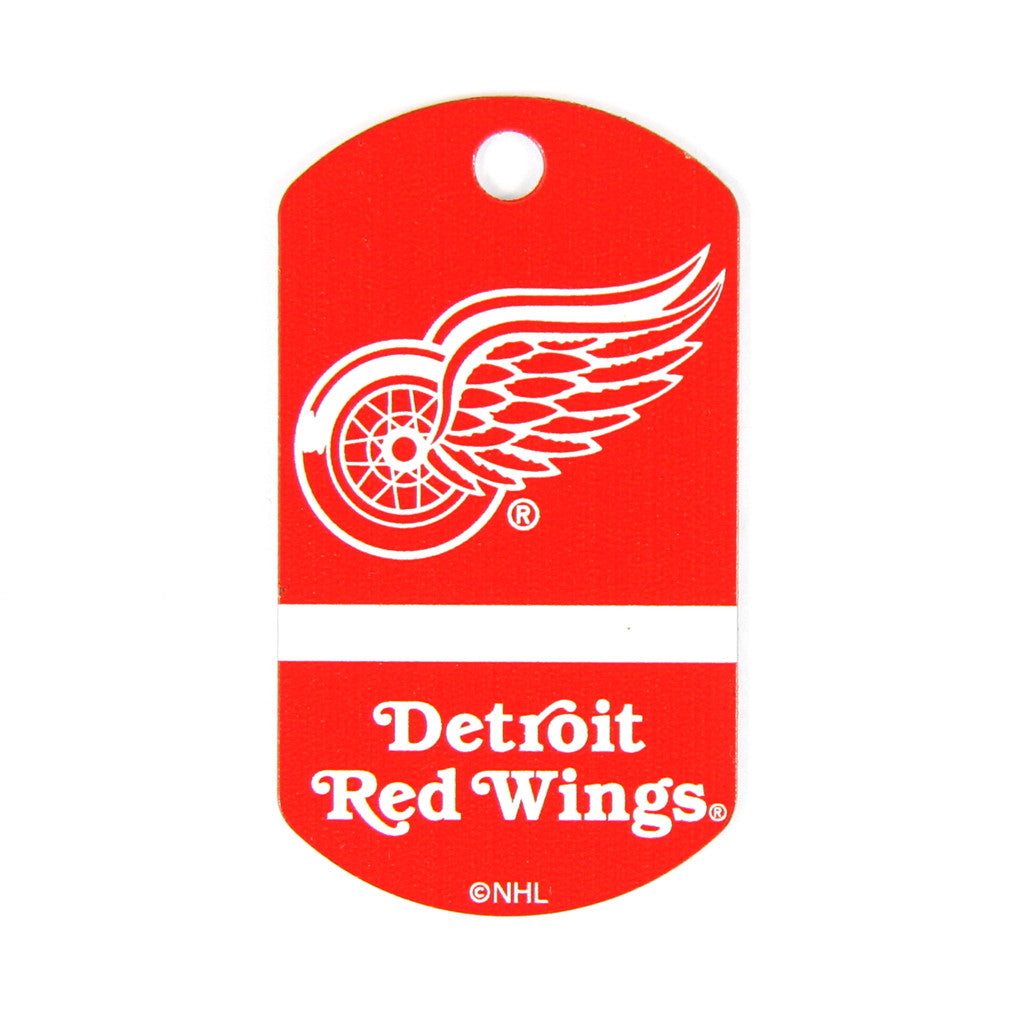 NHL - Detriot Red Wings Military Tag