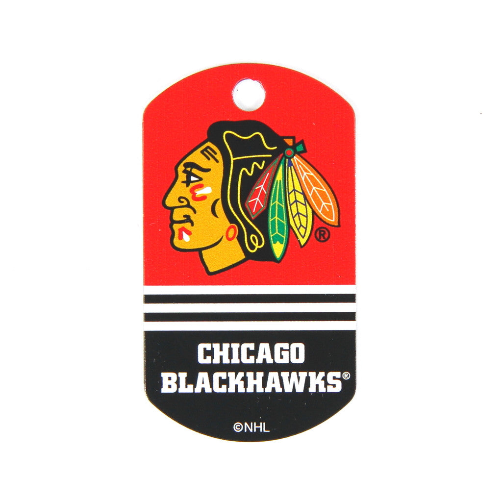 NHL - Chicago Blackhawks Military Tag