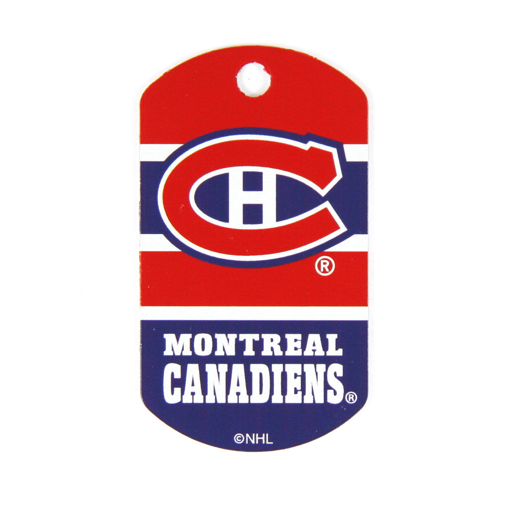 NHL - Montreal Canadiens Military Tag