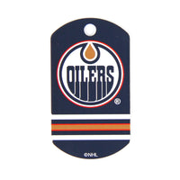 NHL - Edmonton Oilers Military Tag