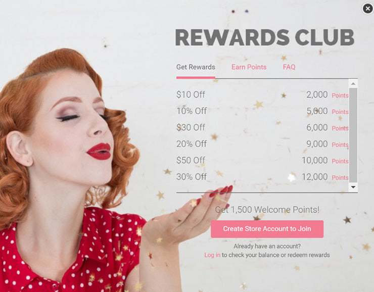 Erstwilder Rewards Club - Redeeming Rewards