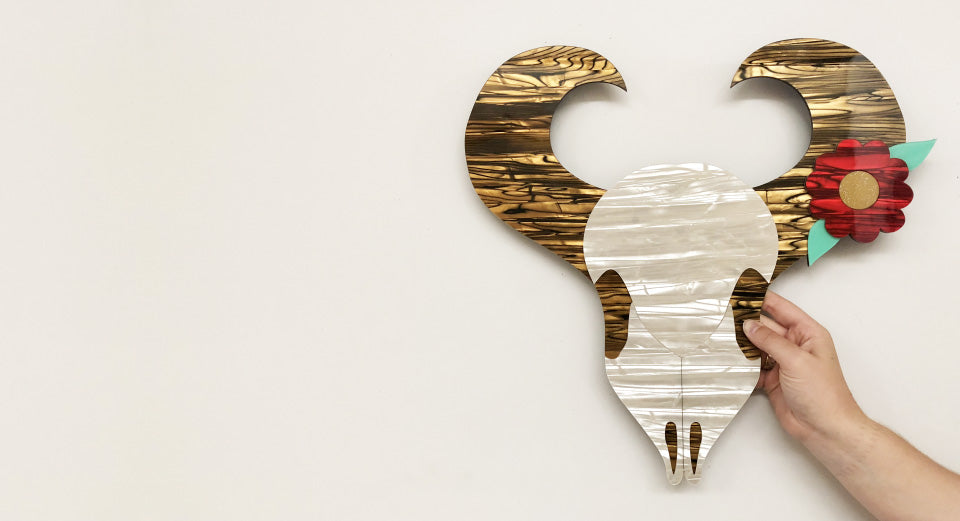 Win an Erstwilder Buffalo Skull Wall Hanging