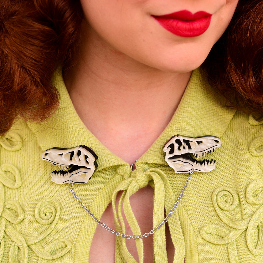 Bad to the Bone Cardigan Clips