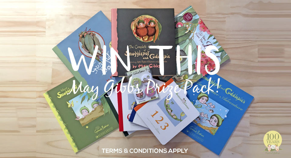 Win a May Gibbs Gumnut Babies Prize Pack from Erstwilder