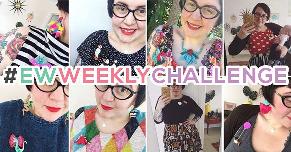 Join in the fun! It's the #EWWEEKLYCHALLENGE
