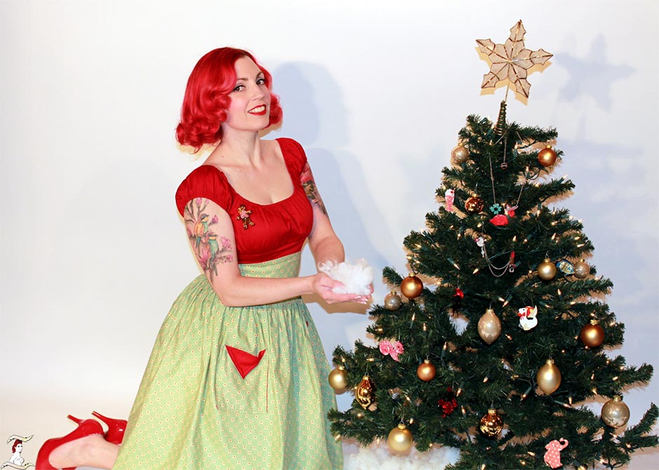 Pinup Persuasion and Ginger the Christmas Cookie 1