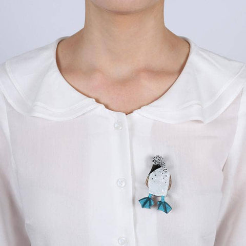 Ruby the Booby Brooch