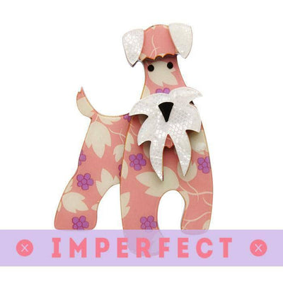 sale The Schnauzer and Klaus Brooch (IMPERFECT) IP-BH4011-8064
