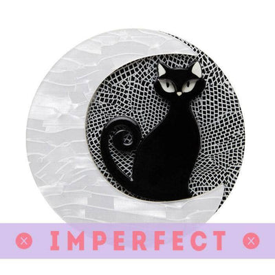 Cara the Halloween Kitty Brooch (IMPERFECT)