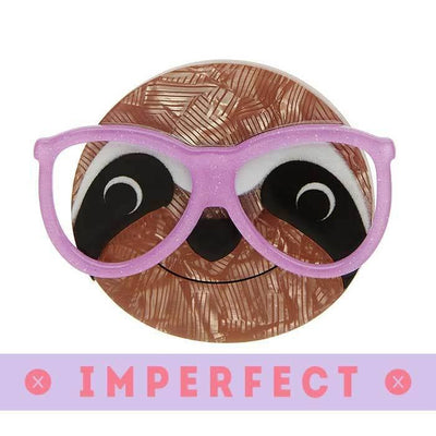 Sammy the Smart Sloth Brooch (IMPERFECT)