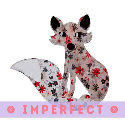 Frond Fox Brooch ( IMPERFECT)