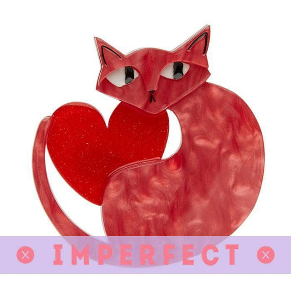 Linda Love Cat Brooch (IMPERFECT)