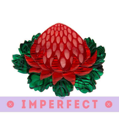 Telopea Waratah Brooch (IMPERFECT)