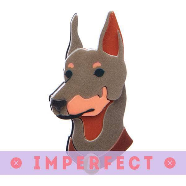 Erstwilder - Patrick Pinscher Brooch (IMPERFECT) - 1