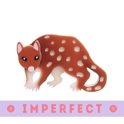 Spotty the Quoll Brooch (IMPERFECT)