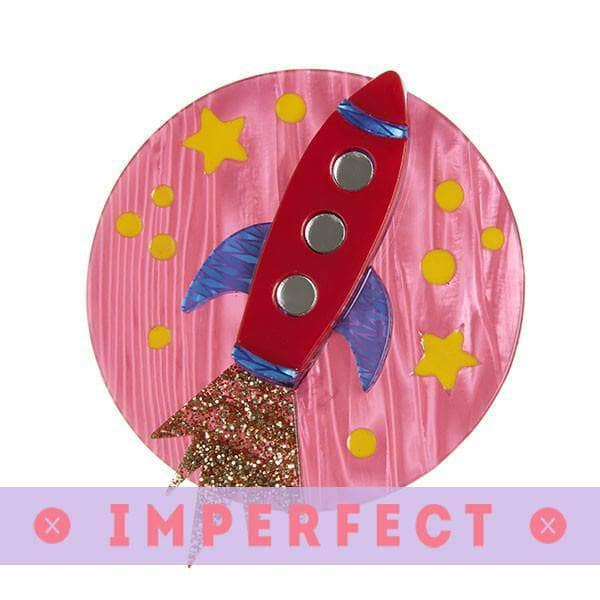 Erstwilder - Blast Off! Brooch (IMPERFECT) - 1