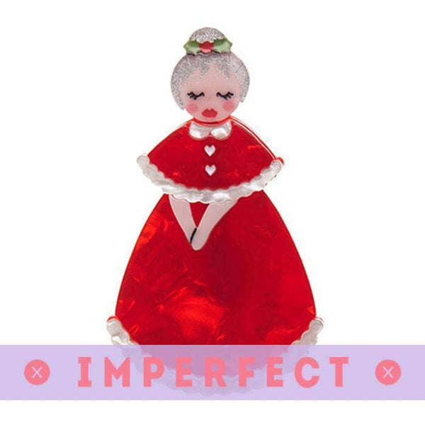 Mrs. Claus Brooch (IMPERFECT)