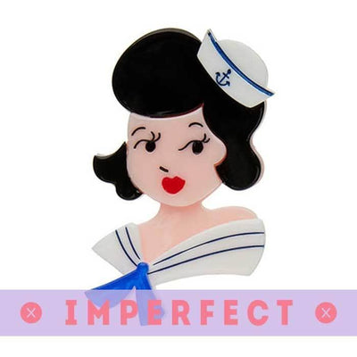 sale Ahoy, Sailors! Brooch (IMPERFECT) IP-BH6507-8130