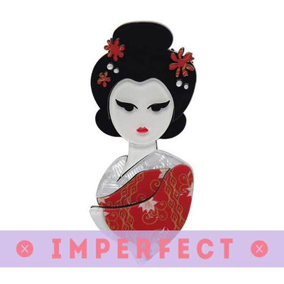 Mysterious Maiko Brooch (IMPERFECT)