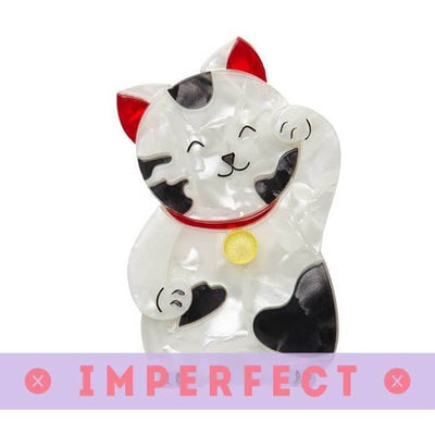 sale Neko the Bekoner Brooch (IMPERFECT) IP-BH6538-8470
