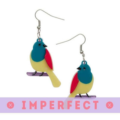 Boppin With Barney Earrings (IMPERFECT)