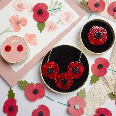 Erstwilder Poppy Field Set