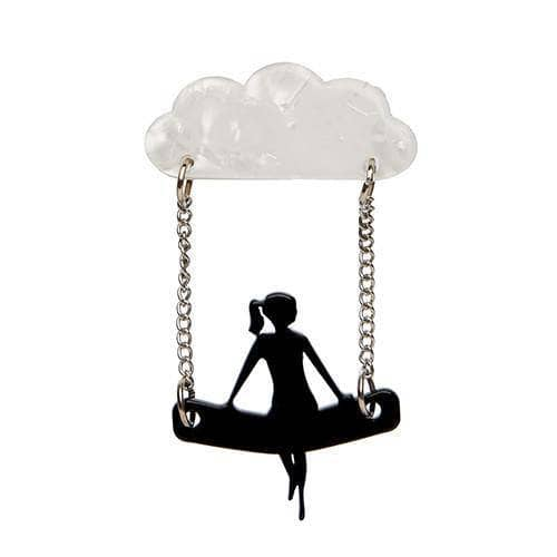 Erstwilder - A View to a Cloud Brooch - 1