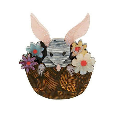 Basket of Bilby Brooch (IMPERFECT)