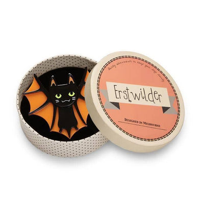 sale Bat Cat Brooch (IMPERFECT) IP-BH6205-7061