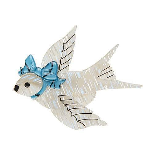 Erstwilder - Bluebird of Celebration Brooch - 1
