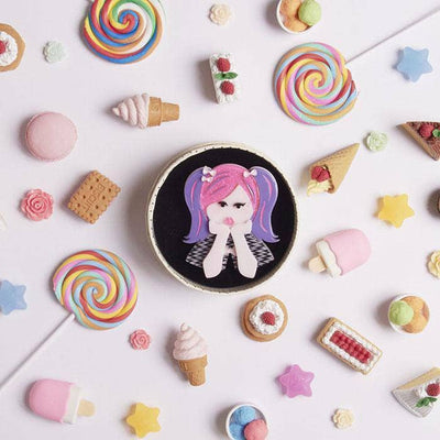 sale Bubblegum Pop Princess Brooch (IMPERFECT) IP-BH6541-2050