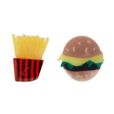 Erstwilder - Burger and Fries Earrings - 1