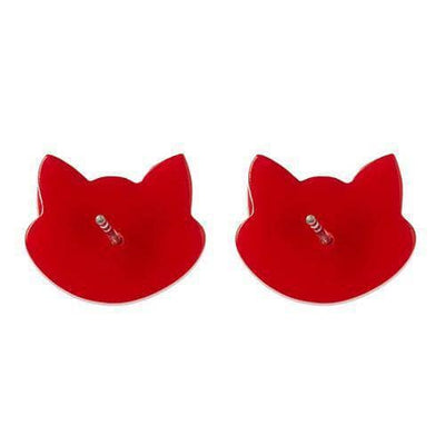 Erstwilder - Carla Cat Earrings (IMPERFECT) - 4