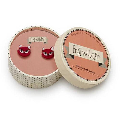 Erstwilder - Carla Cat Earrings (IMPERFECT) - 3