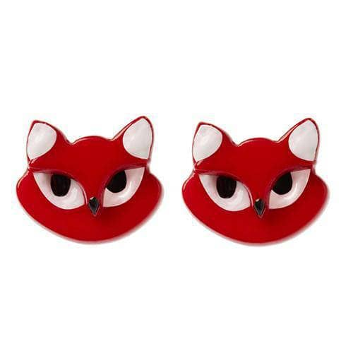 Erstwilder - Carla Cat Earrings - 1