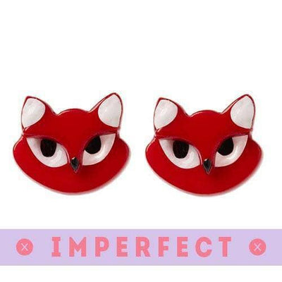 Erstwilder - Carla Cat Earrings (IMPERFECT) - 1