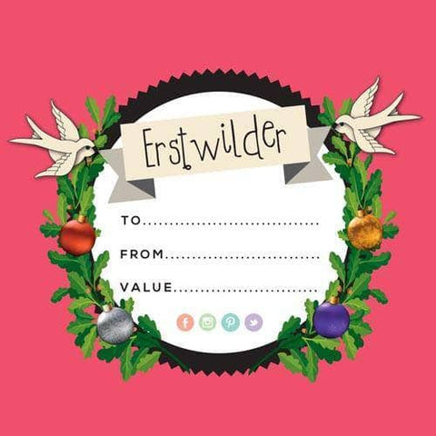 Erstwilder - Physical Gift Voucher (Christmas)
