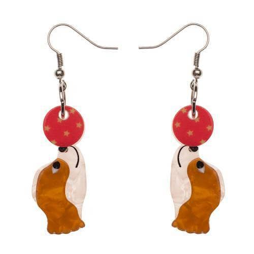 Erstwilder - Coco the Clever Cavalier Earrings - 1