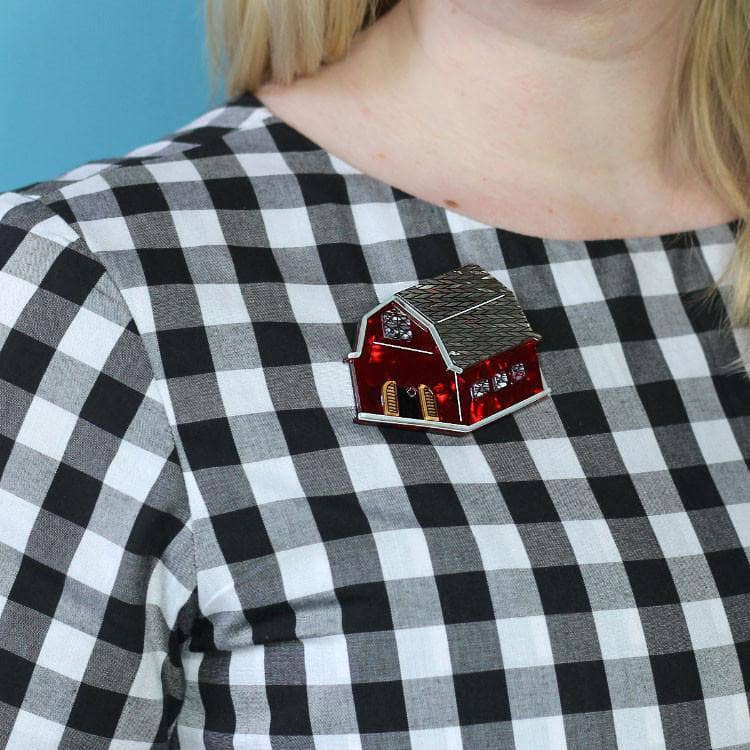 House of Hootenanny Brooch
