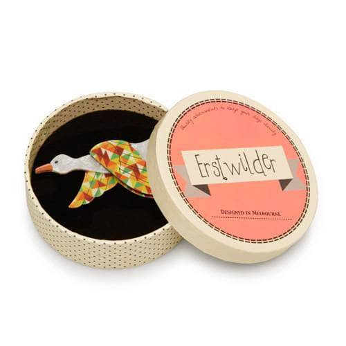 Erstwilder - Dancing Duck Brooch - 2