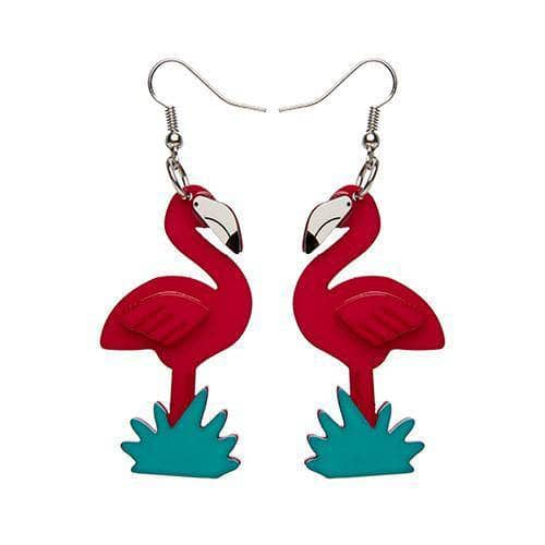 Erstwilder - Flamboyant Flamingo Fair Earrings - 1