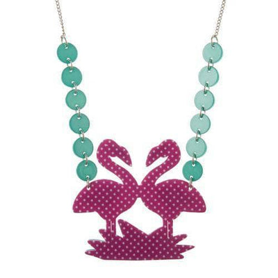 sale Flamboyant Flamingo Fair  Necklace (IMPERFECT) IP-N5617-5040