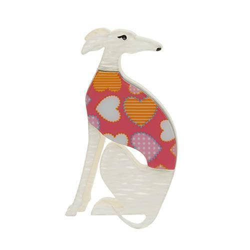 Erstwilder - Garrison the Greyhound Brooch - 1