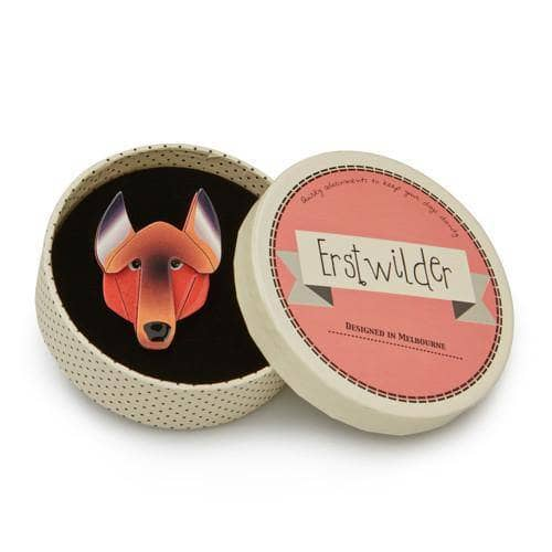 Erstwilder - Gillian German Shepherd Brooch - 3