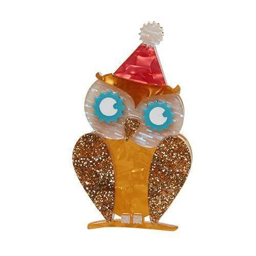 Erstwilder - Having a Hoot Brooch - 1