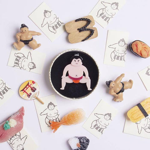 He Be Rikishi Brooch