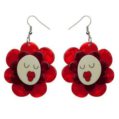 Erstwilder - Helen's Humming Flowers Earrings - 1