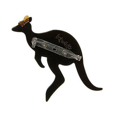 Erstwilder - Kangaroo Crossing Brooch (IMPERFECT) - 5