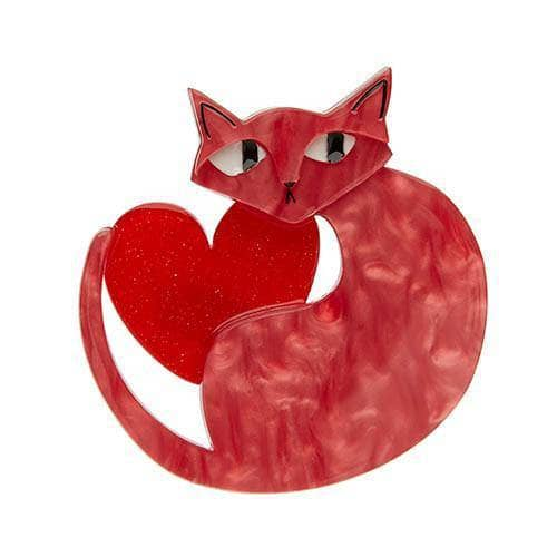 Erstwilder - Linda Love Cat Brooch - 1