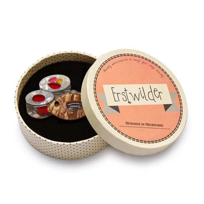 Maki Meal Time Brooch